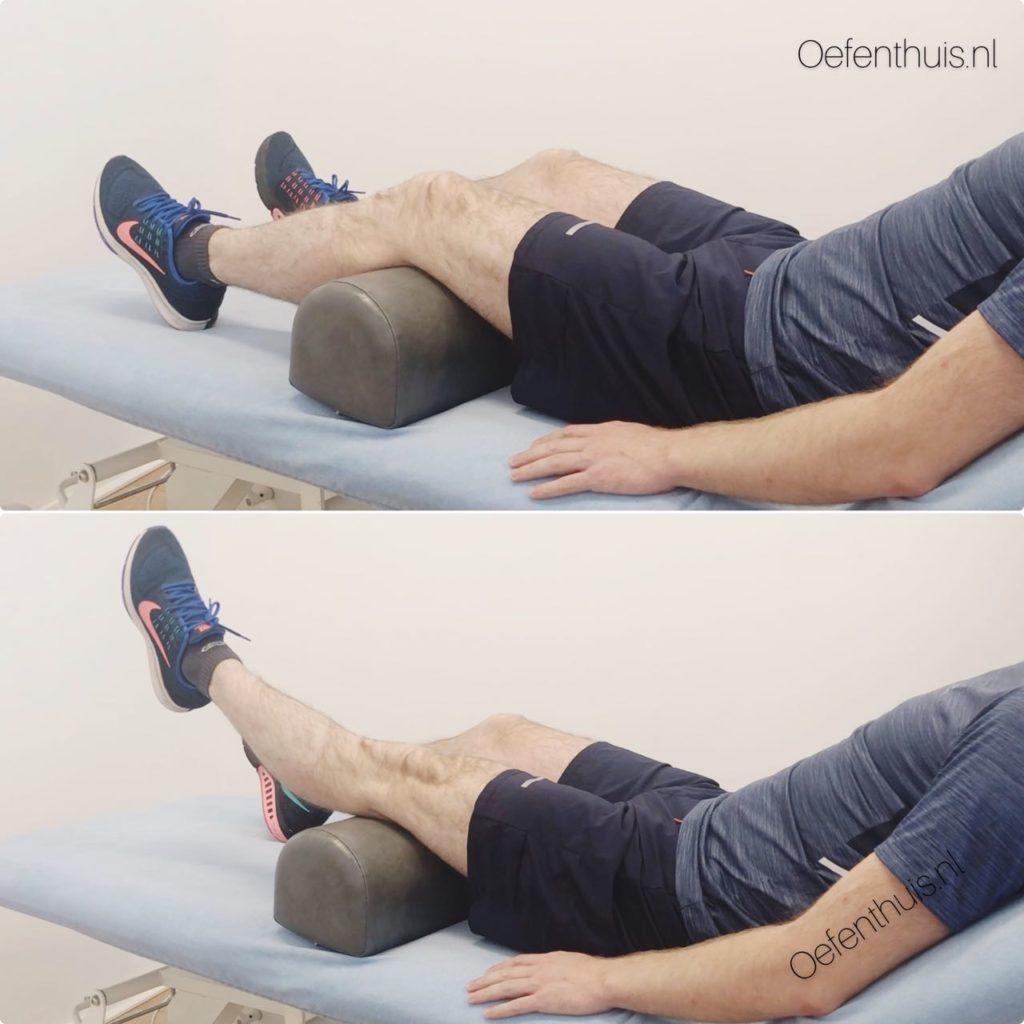 quadriceps trainen in ruglig