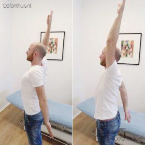 Arm heffen oefening