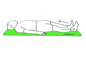 Onderrug mobiliseren in ruglig bij mensen met lage rugklachten