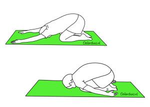 Yoga oefening 2