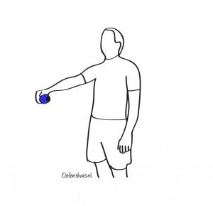 Overbelaste schouder oefeningen