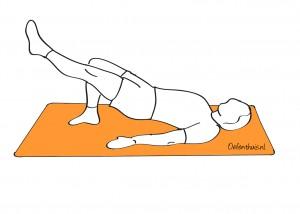 Planken rugpijn